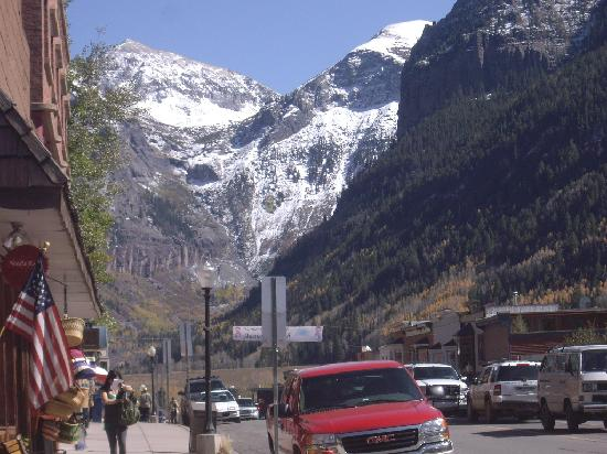 Fairmont Heritage Place, Franz Klammer Lodge: View of Telluride