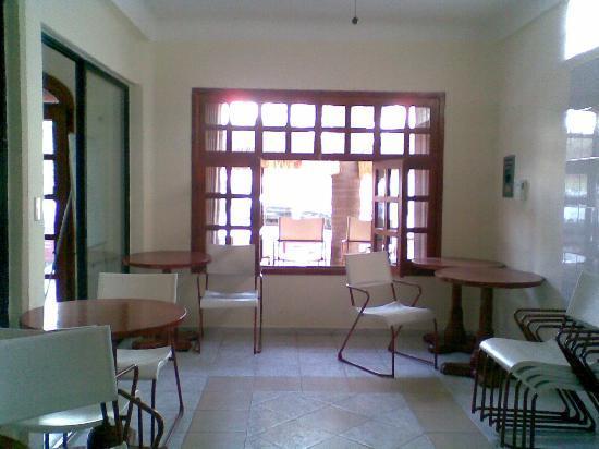 Hotel el Moro: una parte de la cocina