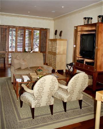 Saxon Hotel, Villas and Spa: My Room's Sitting Area
