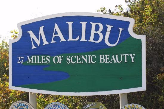 The Sign Says It All Picture Of Malibu California