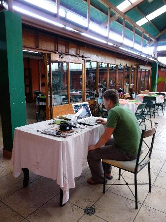 Green House Hostel: There is excellent, free wi-fi service at the hostel