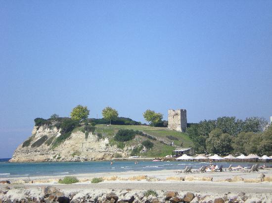 Porto Sani: beach view