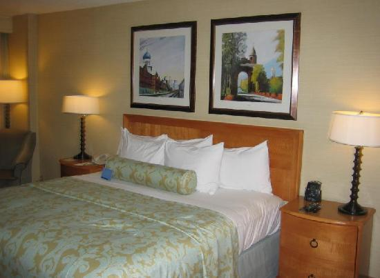 Hilton Hartford: Bed Area