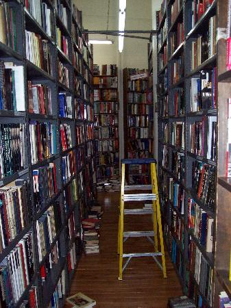 The Strand Bookstore: Looking down an aisle...