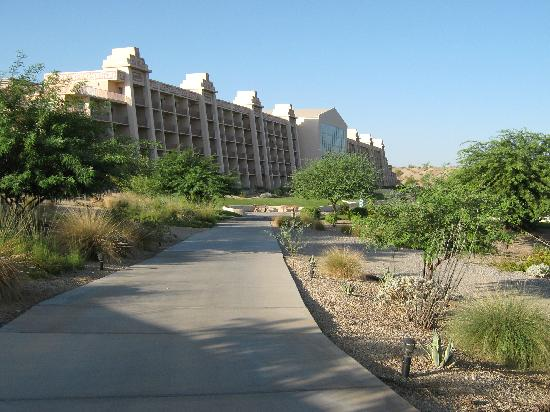 BlueWater Resort and Casino: Riverwalk view