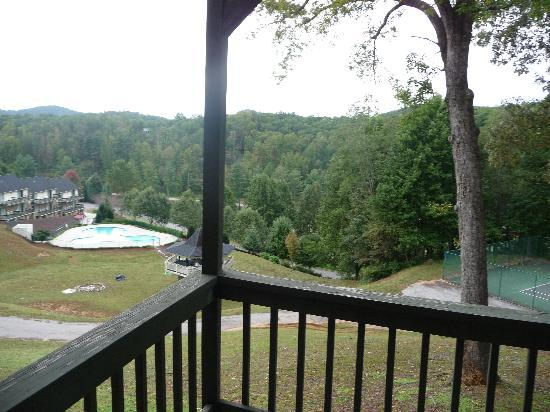 Kingwood Country Club & Resort: View from the Balcony