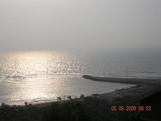 Punami Rishikonda: view from the balcony