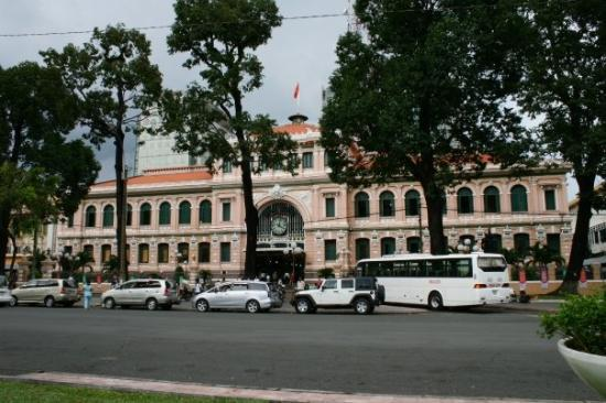 Ho Chi Minh City, Vietnam: Post Office at Paris Square HCMC