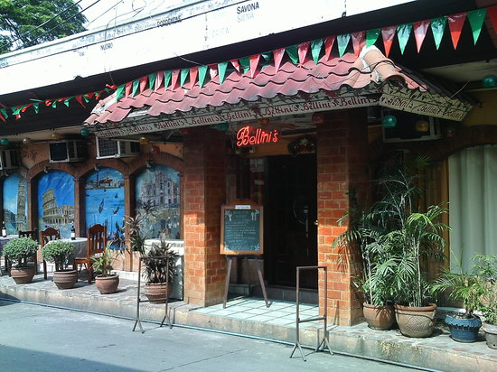 Entrance to Bellini's - Picture of Bellini's, Manila - TripAdvisor