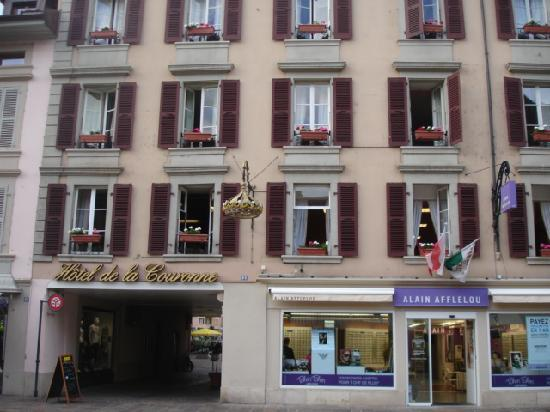 Hotel de la Nouvelle Couronne: hotel