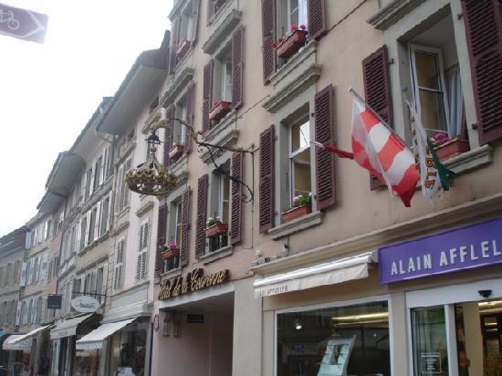 Hotel de la Nouvelle Couronne: hotel 2
