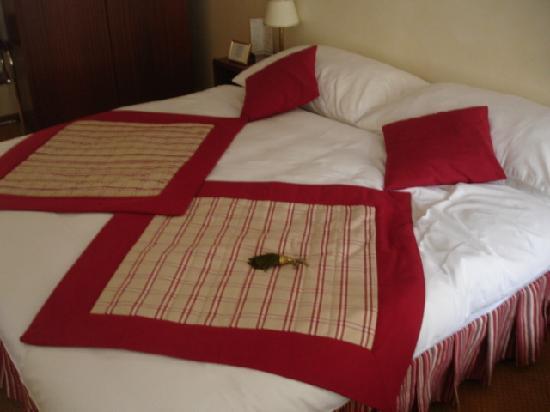 Hotel de la Nouvelle Couronne: letto