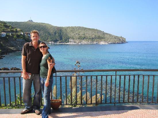 Albergo Miramare: la terrasse de l'Hotel
