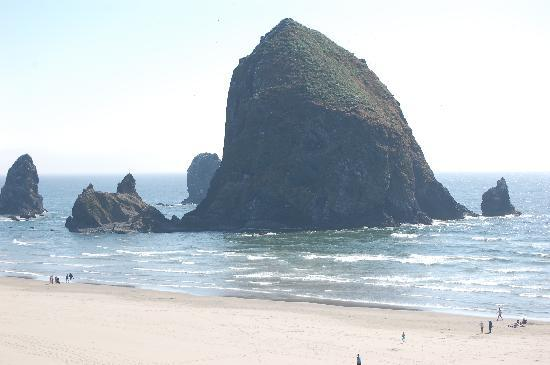 Hallmark Resort Cannon Beach: view from our room