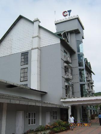 Hotel C7: External view