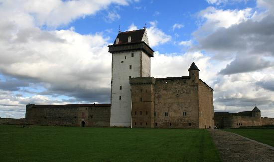 Narva Castle and Museum, Narva, Estonia