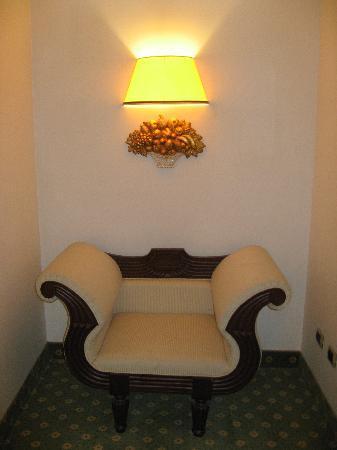 Hotel Argentina: 共有部分によいソファがたくさんありました