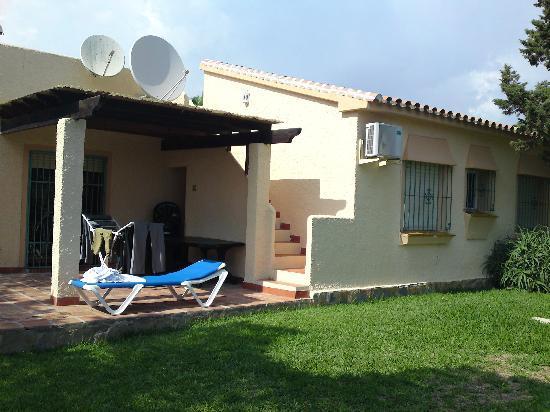 Heritage Resorts Club Playa Real: side/back 3 bed Marbesa villa