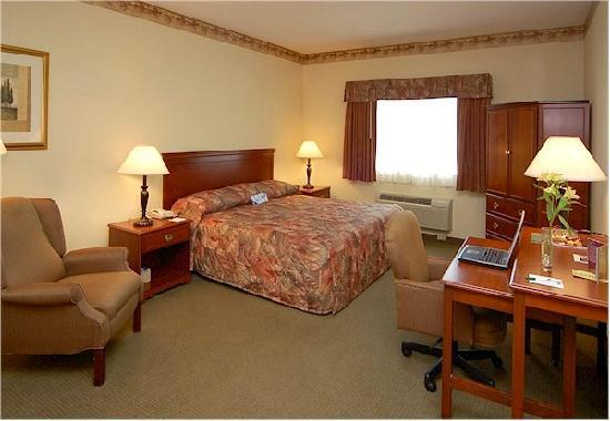 La Quinta Inn & Suites Louisville Airport & Expo: my king suite