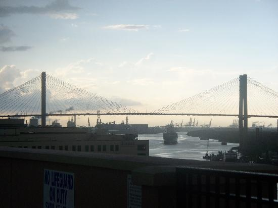 Holiday Inn Express Savannah - Historic District: view from roof