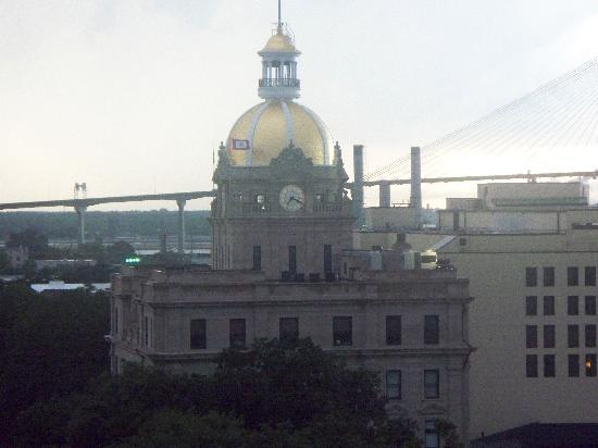 Holiday Inn Express Savannah - Historic District: view of capitol from roof
