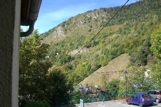 Bareges, França: vue de la chambre