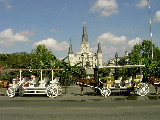 Nowy Orlean, Luizjana: St Louis Cthedral in the French Quarter