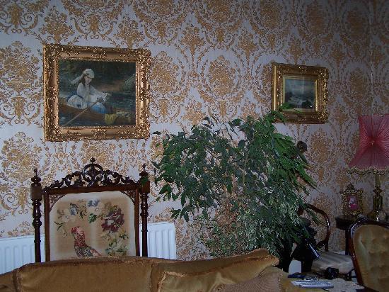 The Flower House: Interior of Flower House