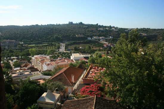Silves, Portugal: view from the walls