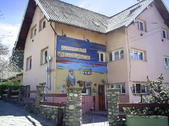 Hostel El Gaucho: Front of the El Gaucho Hostel