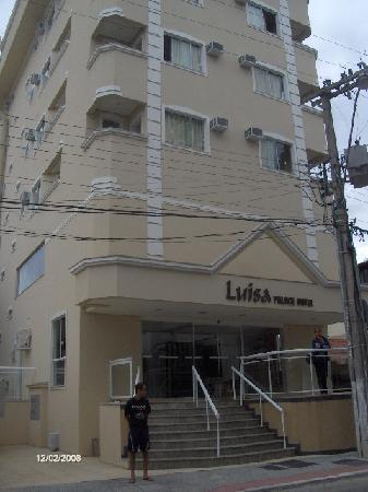 Luisa Palace Hotel: Fachada del hotel