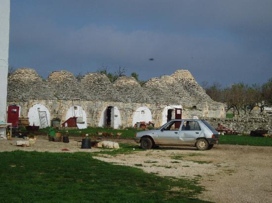 Masseria Murgia Albanese: i trulli per le galline