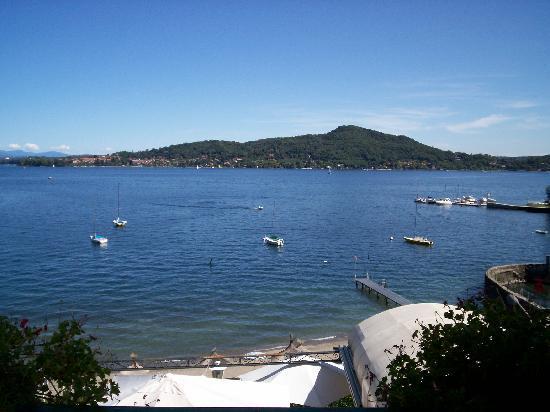 Hotel Villa Paradiso: Vue lac du 1er étage
