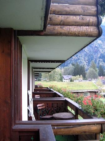 Le Labrador Hotel: Le balcon