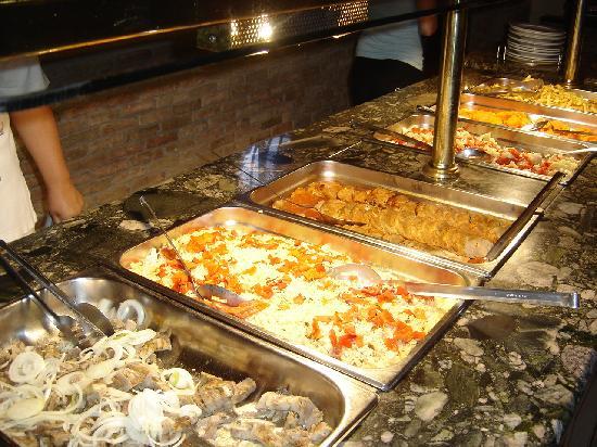 Cactus Beach Hotel & Bungalows : Buffet très simple