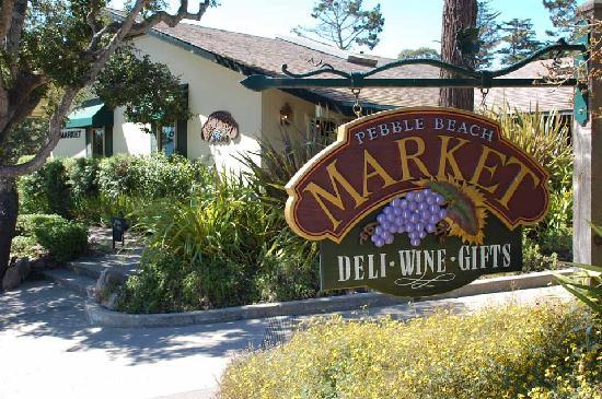 Foto De Seven Mile Drive Carmel Pebble Beach Market Bank And