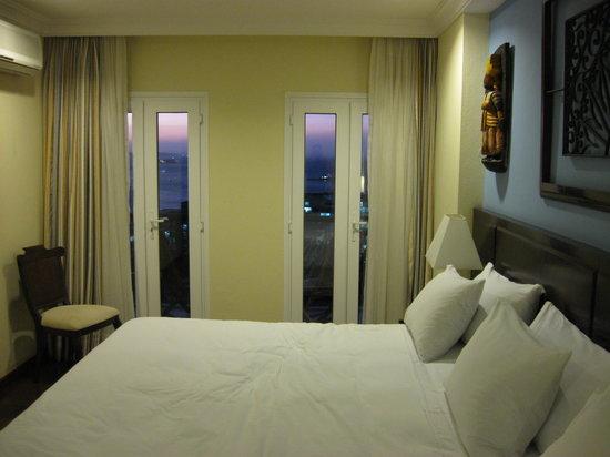 Hotel Casa do Amarelindo : The room