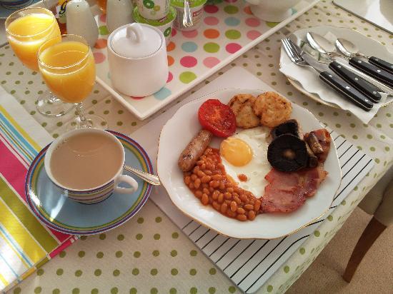Eden Lodge : lovely breakfast