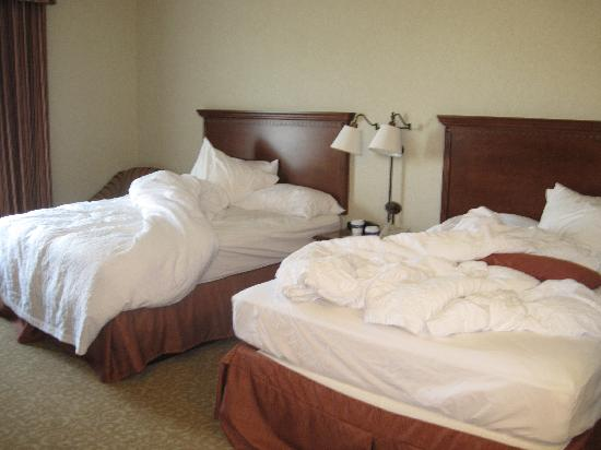 Hampton Inn & Suites Lodi: queen size bedroom