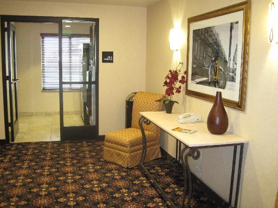 Hampton Inn & Suites Lodi: lobby