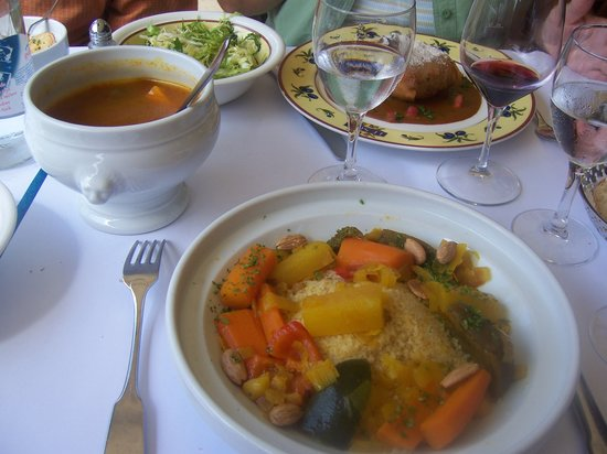 Brasserie Le Sud : A Vegetarian selection