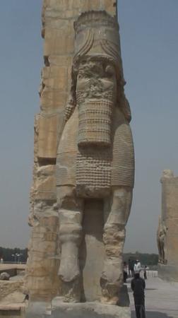 Persepolis, อิหร่าน: Persian King, Pesepolis Palace, Iran June 08