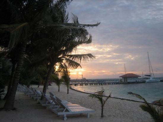 Ramon's Village Resort : The beach at Ramon's Village at 5:30am...way to early for vacation