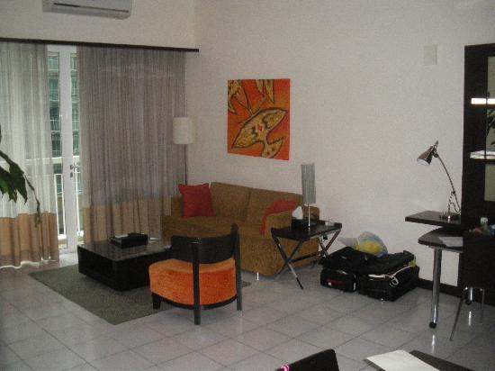 Seri Bukit Ceylon Residences : family room
