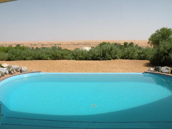 Al Maha, A Luxury Collection Desert Resort & Spa : View from Pool
