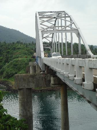 Biliran Island, Philippines: ビリランよりレイテを望む