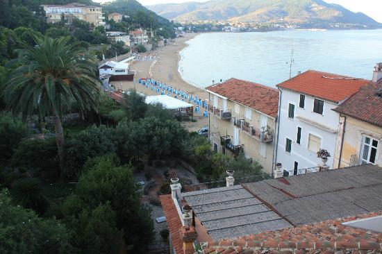 Palazzo Belmonte: View from our balcony