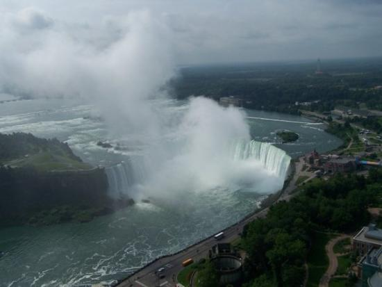 View from the Skylon Tower