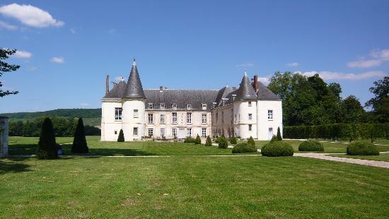 Chateau de Conde: Château de Condé - façade sud