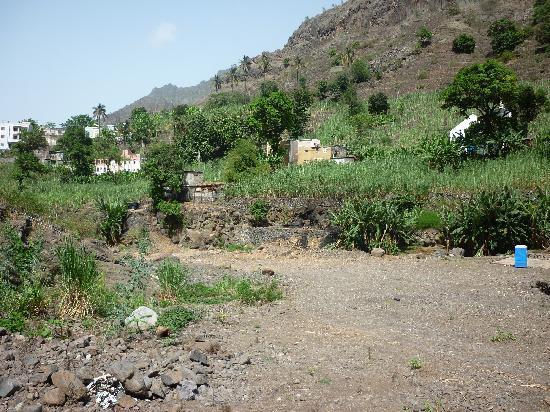 Porto Novo, Kape Verde: cha de pedras ribeira grande santo antao
